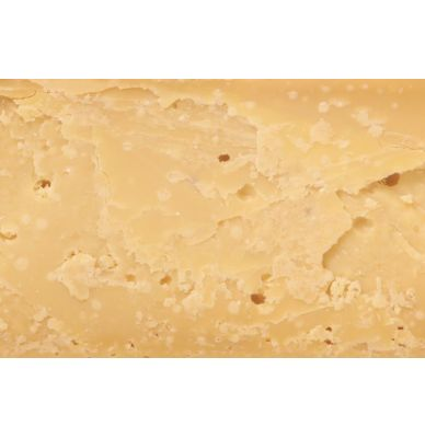 Sýr gouda farmářský, z kravího mléka 48+ 3 roky zrající, 1x ¼ sýra (+/- 3 Kg.)